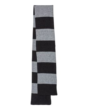 'Sportsman SP02 Rugby Striped Knit Scarf'