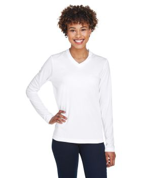 Team 365 TT11WL Ladies' Zone Performance Long-Sleeve T-Shirt