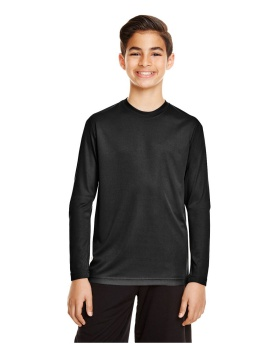 Team 365 TT11YL Youth Zone Performance Long-Sleeve T-Shirt