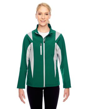 Team 365 TT82W Ladies' Icon Colorblock Soft Shell Jacket