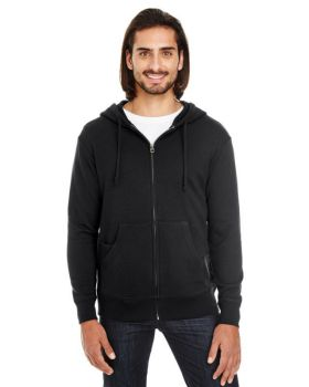 Threadfast Apparel 321Z Unisex Triblend French Terry Full-Zip