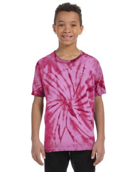Tie-Dye CD100Y Youth Cotton T-Shirt