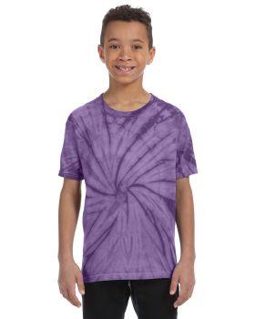 Tie-Dye CD100Y Youth Cotton T-Shirt