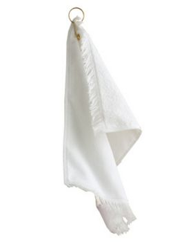Towel Plus T60GH Fringed Fingertip Towel