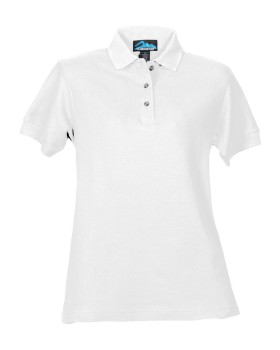 Tri-Mountain 166 Women's cotton pique golf shirt.