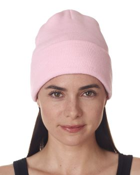UltraClub 8130 Adult Knit Beanie with Cuff