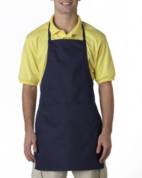 UltraClub 8204 Two-Pocket Adjustable Apron