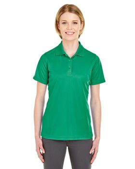 'UltraClub 8210L Ladies Cool & Dry Mesh PiquePolo Shirt'
