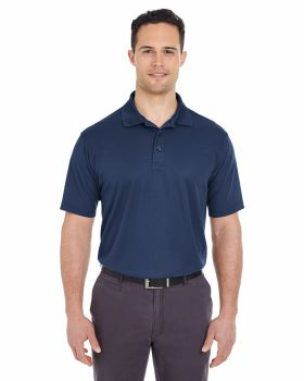 UltraClub 8210T Men's Tall Cool & Dry Mesh Piqué Polo