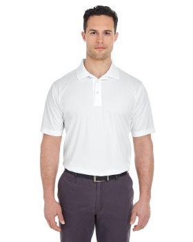 UltraClub 8210T Men's Tall Cool & Dry Mesh Piqué Polo