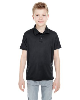 UltraClub 8210Y Youth Cool & Dry Mesh Piqué Polo