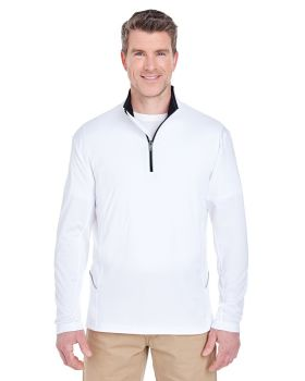 UltraClub 8230 Men's Cool & Dry Sport Quarter-Zip Pullover