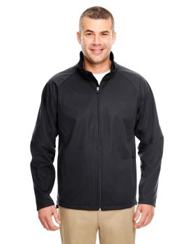 UltraClub 8275 Adult Two-Tone Soft Shell Jacket
