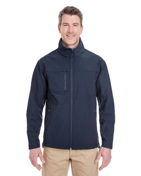 UltraClub 8280 Adult Ripstop Soft Shell Jacket with Cadet Collar