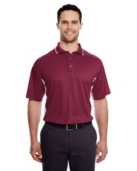 'UltraClub 8406 Men's Cool & Dry Sport Two-Tone Polo'