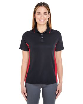 UltraClub 8406L Ladies' Cool & Dry Sport Two-Tone Polo