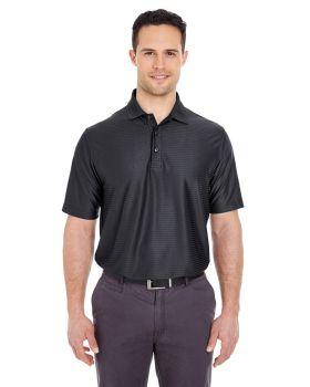 UltraClub 8413 Men's Cool & Dry Elite Tonal Stripe Performance Polo Shir ...