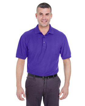 UltraClub 8540 Men's Whisper Pique Polo Shirt