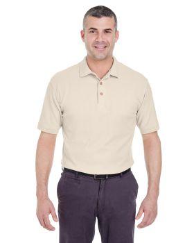 'UltraClub 8540 Men's Whisper Pique Polo Shirt'