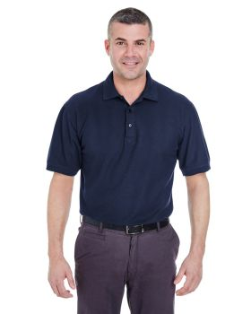 UltraClub 8540T Men's Tall Whisper Piqué Polo