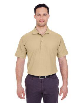 UltraClub 8560 Men Basic Blended Piqué Polo