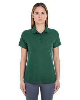 UltraClub 8560L Women Basic Blended Piqué Polo