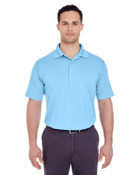 UltraClub 8610 Men's Cool & Dry 8 Star Elite Performance Interlock Polo  ...
