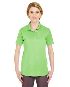 UltraClub 8610L Ladies' Cool & Dry 8-Star Elite Performance Interlock Po ...
