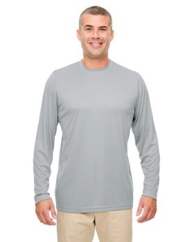 UltraClub 8622 Men's Cool & Dry Performance Long-Sleeve Top