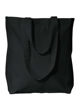 UltraClub 8861 Susan Canvas Tote