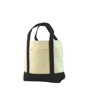 UltraClub 8867 Seaside Cotton Canvas Tote