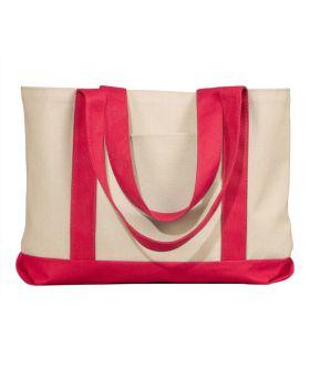 UltraClub 8869 Leeward Canvas Tote