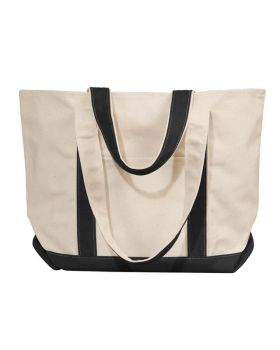 UltraClub 8871 Winward Canvas Tote