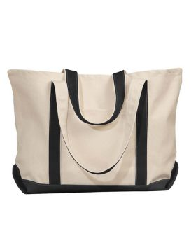 UltraClub 8872 Carmel Canvas Tote