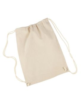 UltraClub 8875 Cotton Drawstring Backpack