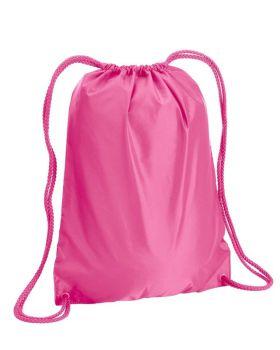 UltraClub 8881 Boston Drawstring Backpack