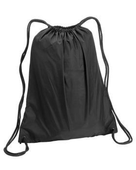 UltraClub 8882 Large Drawstring Nylon Backpack