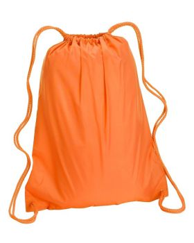 UltraClub 8882 Large Drawstring Backpack