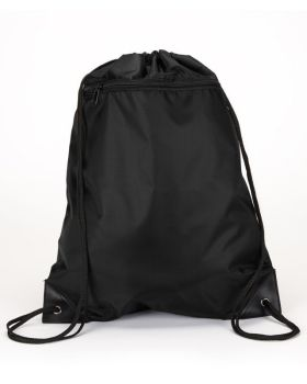 UltraClub 8888 Zipper Drawstring Backpack