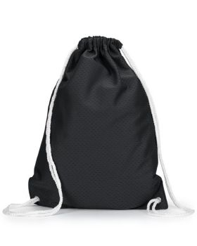 UltraClub 8895 Jersey Mesh Drawstring Backpack