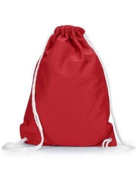 UltraClub 8895 Jersey Mesh Drawstring Backpack