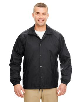 UltraClub 8944 Adult Nylon Coaches' Jacket