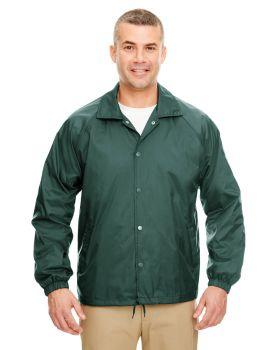 UltraClub 8944 Adult Nylon Coaches' Jacket