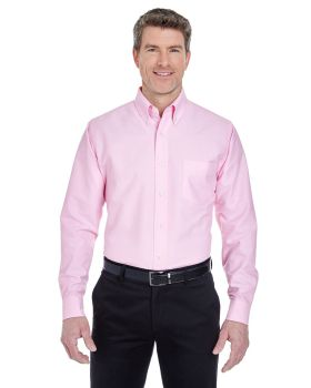 UltraClub 8970 Men's Classic Wrinkle Resistant Long Sleeve Oxford Shirt