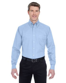 UltraClub 8970T Men's Tall Classic Wrinkle-Resistant Long-Sleeve Oxford