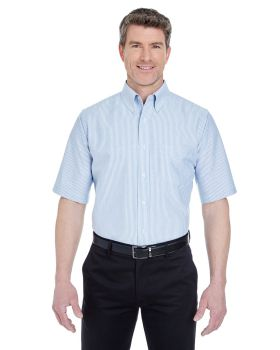 UltraClub 8972 Men's Classic Wrinkle-Resistant Short-Sleeve Oxford