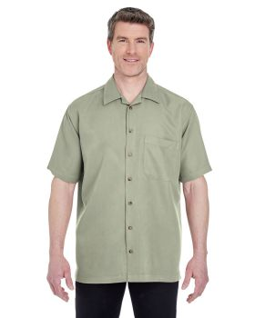 'UltraClub 8980 Men's Cabana Breeze Camp Shirt'