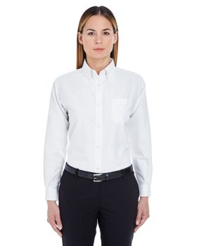 UltraClub 8990 Ladies' Classic Wrinkle-Resistant Long-Sleeve Oxford