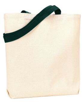 UltraClub 9868 Jennifer Recycled Cotton Canvas Tote