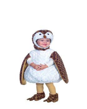 Underwraps UR26077 White Barn Owl Toddler